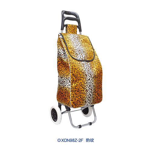 牛头柄便携购物车-XDN98Z-2F 豹纹