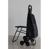 铝合金折叠带椅购物车XDZ06系列 -22.0