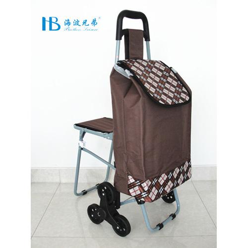 普通带椅爬楼购物车-XDZ02-3X