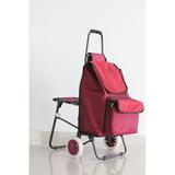折叠带座椅购物车 -照片-044