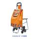 普通带椅爬楼购物车-XDZ02-3P 六色圆圈