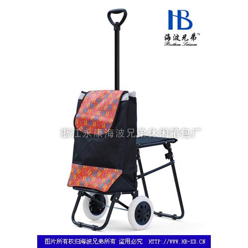 带座椅伸缩购物车-带凳系列14