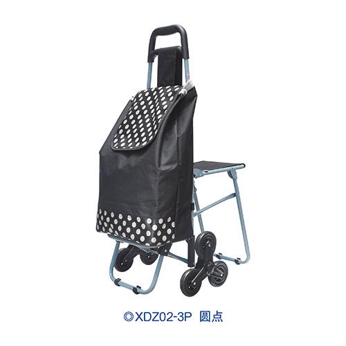 带座椅伸缩购物车-XDZ04B-2F