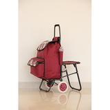 折叠带座椅购物车 -照片-052