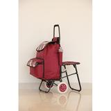 折叠带座椅购物车 -照片-053