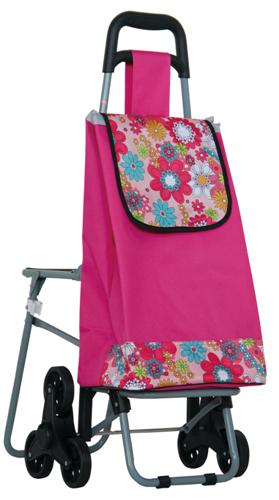 普通柄带座椅爬楼购物车-XDZ02-3X