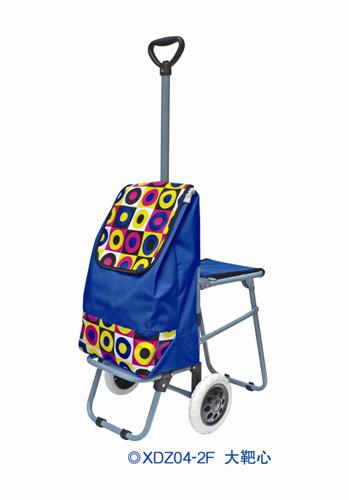 伸缩杆带座椅购物车-XDZ04