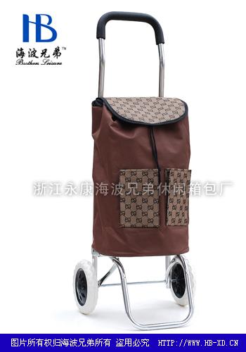 铝合金折叠购物车-XDL08-2F