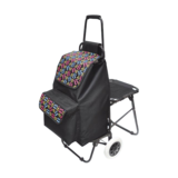 折叠带座椅购物车 -XDZ03-2F-12