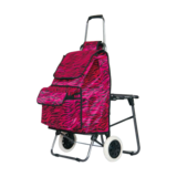 折叠带座椅购物车 -XDZ03-2F-5