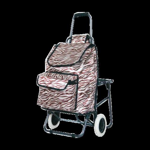 折叠带座椅购物车-XDZ03-2F-6