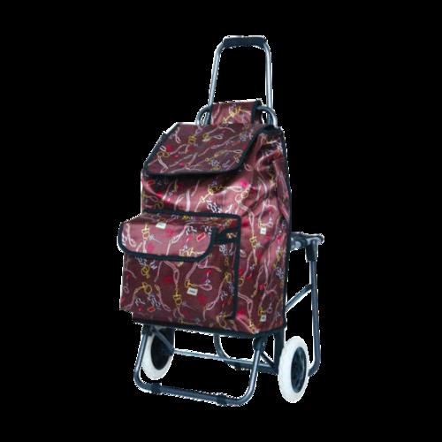 折叠带座椅购物车-XDZ03-2F-1