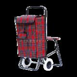 折叠带座椅购物车 -XDZ03-2F-18