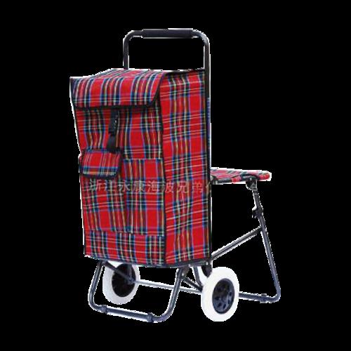 折叠带座椅购物车-XDZ03-2F-18