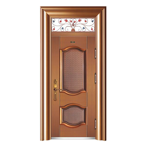 HB-1053凱蒂 (鑄鋁拚接仿真銅3#)單開門帶氣窗