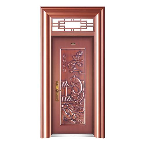 HB-1030魚躍龍門 (仿真銅2#)單開門帶氣窗