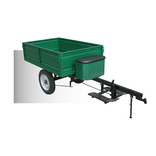 Hand-held agricultural trailer EF-T500
