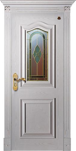 实木复合油漆套装门-HT-SC-125