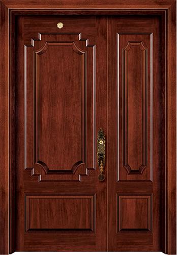 实木复合油漆套装门-ht-sc-908