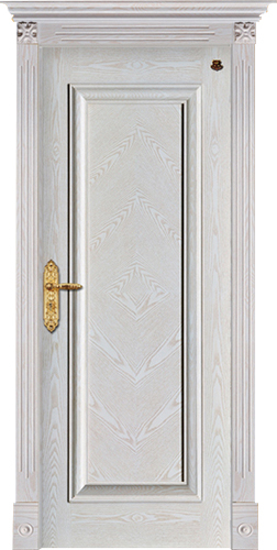 实木复合油漆套装门-HT-SC-118
