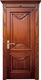 实木复合油漆套装门-HT-SC-123