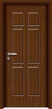实木复合油漆套装门-HT-SB-6