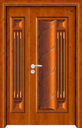 实木复合油漆套装门-HT-SA-8
