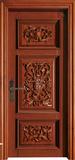 实木复合油漆套装门-HT-Y-15