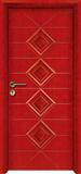 实木复合油漆套装门-HT-SA-115
