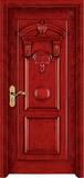 实木复合油漆套装门 -HT-SC-108