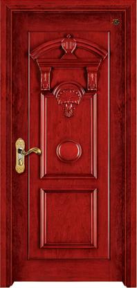 实木复合油漆套装门-HT-SC-108