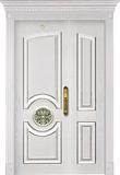 实木复合油漆套装门-HT-SC-124