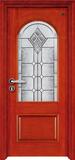 实木复合油漆套装门-HT-SA-9