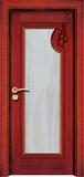 实木复合油漆套装门 -HT-SC-202