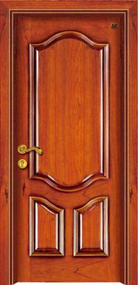 实木复合油漆套装门-HT-SA-1
