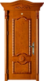 实木复合油漆套装门 -HT-MA-20