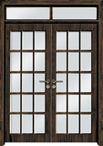 实木复合油漆套装门-HT-SD-116
