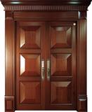 实木复合油漆套装门-HT-SC-909