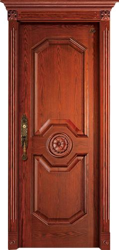 实木复合油漆套装门-HT-SC-129
