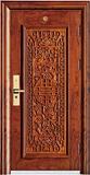 实木复合油漆套装门-HT-MA-67黄花梨
