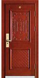 实木复合油漆套装门-HT-MS-68-樱桃木