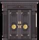 纯铜雕刻木纹-GLL-T-1605