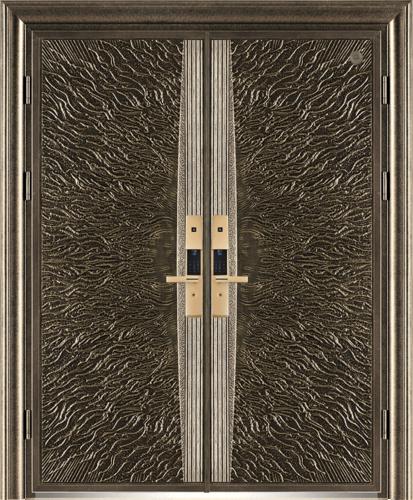 精雕铸铝门-GLL-ZL-1617