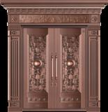 纯铜雕刻木纹 -GLL-T-1617