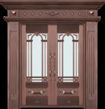 纯铜雕刻木纹 -GLL-T-1620