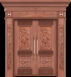 纯铜雕刻木纹 -GLL-T-1601