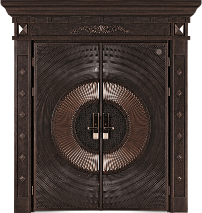 精雕铸铝门-GLL-ZL-1613