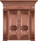 纯铜镌刻木纹-GLL-T-1602