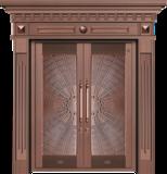 纯铜雕刻木纹 -GLL-T-1615