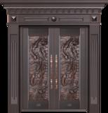 纯铜雕刻木纹 -GLL-T-1612